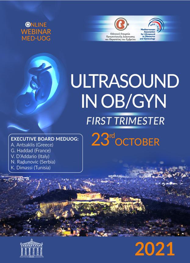 ONLINE WEBINAR MED-UOG: Ultrasound in Ob/Gyn, 1st trimester